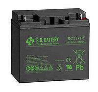 Аккумуляторная батарея BB battery BC 17-12 (12V 17Ah)