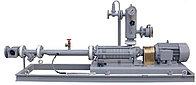 Самовсасывающая установка FAS AP 36-8 (производительность 100 л/мин с электромотором 6,8 кВт+контр.окошко)