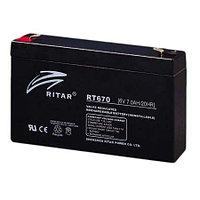 Аккумуляторная батарея Ritar RT6120  (6V 12Ah)