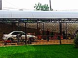 Автомобильный навес из металла, фото 2
