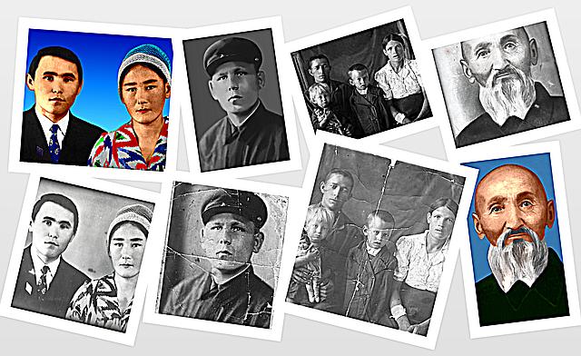 Реставрация фотографий в Алматы