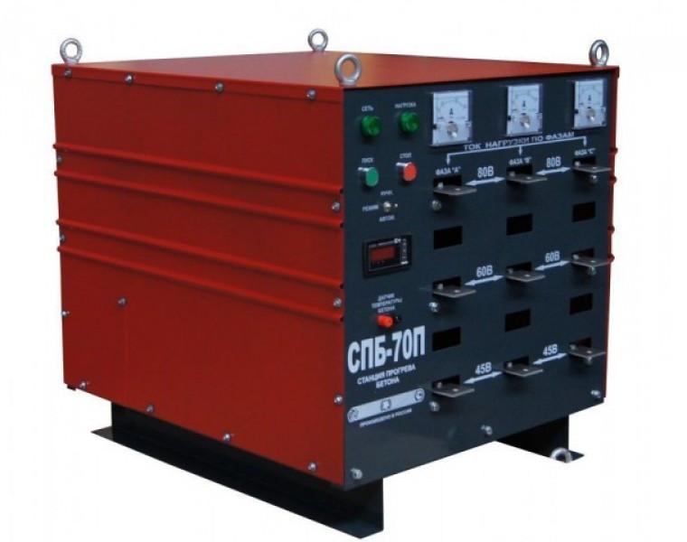 Трансформатор для прогрева бетона ТСДЗ-80/0.38У3 авт.