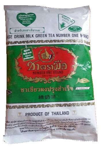 Чай изумрудный молочный