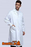 Лабораторный халат, белый, фото 1