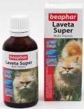 BEAPHAR Laveta super Витамины для шерсти для кошек, 50мл
