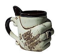 """Декоративная чайная кружка """"В чужой чаёк..."""", 11 см"""