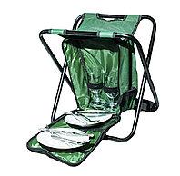 Многофункциональный комплект 3 в 1: стул, рюкзак и набор посуды, фото 1