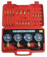 Набор манометров и адаптеров для тестирования карбюратора