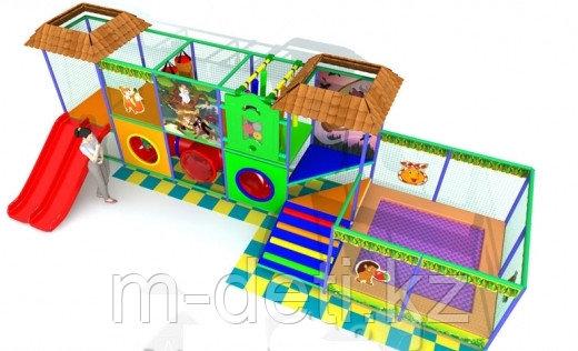 Купить:Внутренний игровой комплекс - лабиринт «Улитка-2»