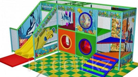 Купить:Внутренний игровой комплекс - лабиринт «Ручеек»