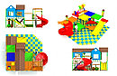 Купить:Внутренний игровой комплекс - лабиринт «Дворик», фото 3