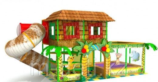 Купить:Внутренний игровой комплекс - лабиринт «Домик Каа»