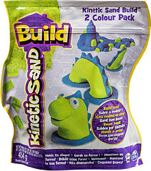 Kinetic Sand Build набор из 2 цветов