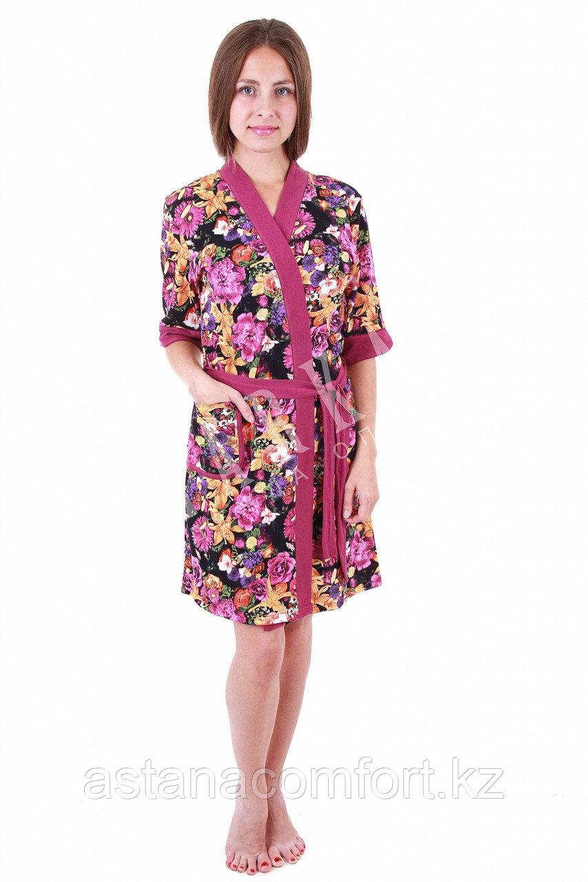 Очаровательный женский комплект - халатик + сорочка