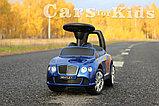Толокар Bentley (Бэнтли) Сиреневый, синий, фото 6
