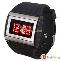Спортивные электронные LED часы с сенсорным экраном, фото 1