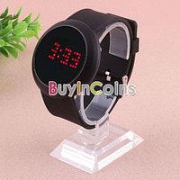 """Наручные LED часы сенсорным экраном """"Luxury Sport black"""", фото 1"""