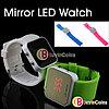 Наручные LED часы с силиконовым ремешком