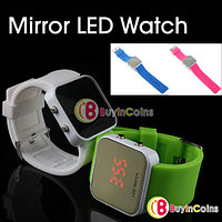 Наручные LED часы с силиконовым ремешком, фото 1