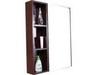 Зеркальный шкаф МИЛАНО Логика 65 венге new!