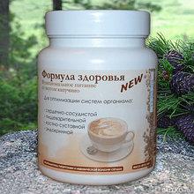 """Формула здоровья NEW"""" ― универсальное функциональное питание, капучино. 300гр"""