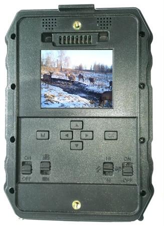 """В корпус фотоловушки """"Falcon Eye FE-AC100"""" встроен 2-дюймовый дисплей"""