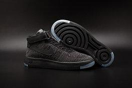 Кроссовки Nike Air Force 1 Mid Flyknit 2016 Black (36-44)