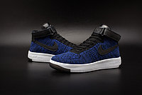 Кроссовки Nike Air Force 1 Mid Flyknit 2016 Blue (36-44), фото 3