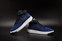 Кроссовки Nike Air Force 1 Mid Flyknit 2016 Blue (36-44), фото 4