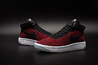 Кроссовки Nikе Air Force 1 Mid Flyknit 2016 Red (36-44), фото 3