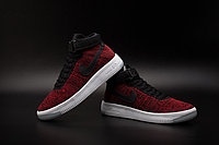 Кроссовки Nikе Air Force 1 Mid Flyknit 2016 Red (36-44), фото 4