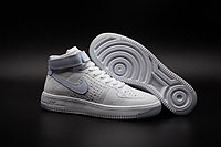 Кроссовки Nikе Air Force 1 Mid Flyknit 2016 White (36-44)