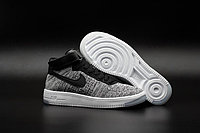Кроссовки Nikе Air Force 1 Mid Flyknit 2016 gray (40-44)
