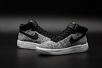 Кроссовки Nikе Air Force 1 Mid Flyknit 2016 gray (40-44), фото 3