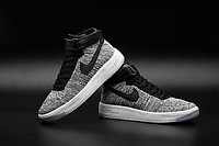 Кроссовки Nikе Air Force 1 Mid Flyknit 2016 gray (40-44), фото 4