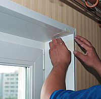 Пластиковые откосы (утепление балконов)