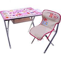 Набор мебели Дэми №2 Принцессы, (серебристый)