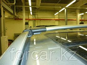 Комплект поперечин (дуг) на стандартные рейлинги CAN Diamond (Турция)  122см серебристые, фото 2