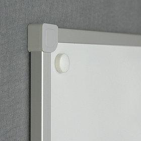 Доска маркерная магнитная в алюм. раме ALC 170х100 см 2x3 (Польша)
