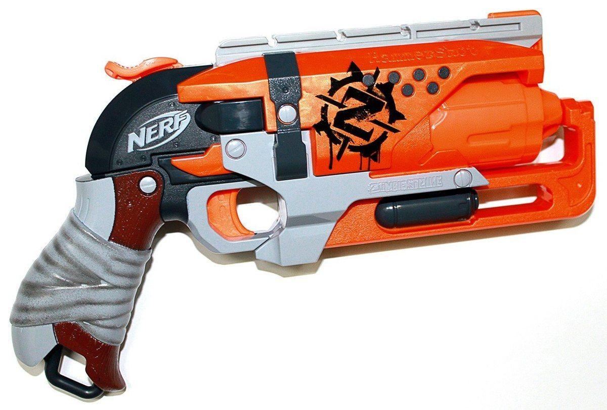 "Hasbro Nerf Zombie Strike Пистолет Бластер ""Хаммершот"" (Hammershot)"