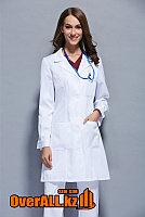 Классический женский медицинский халат, фото 1