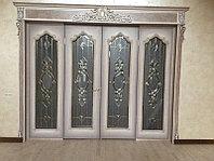 Витражи для межкомнатных дверей, D-176