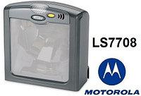 Сканер штрихкода Motorola LS7708 настольный лазерный многополосный (черный, USB)