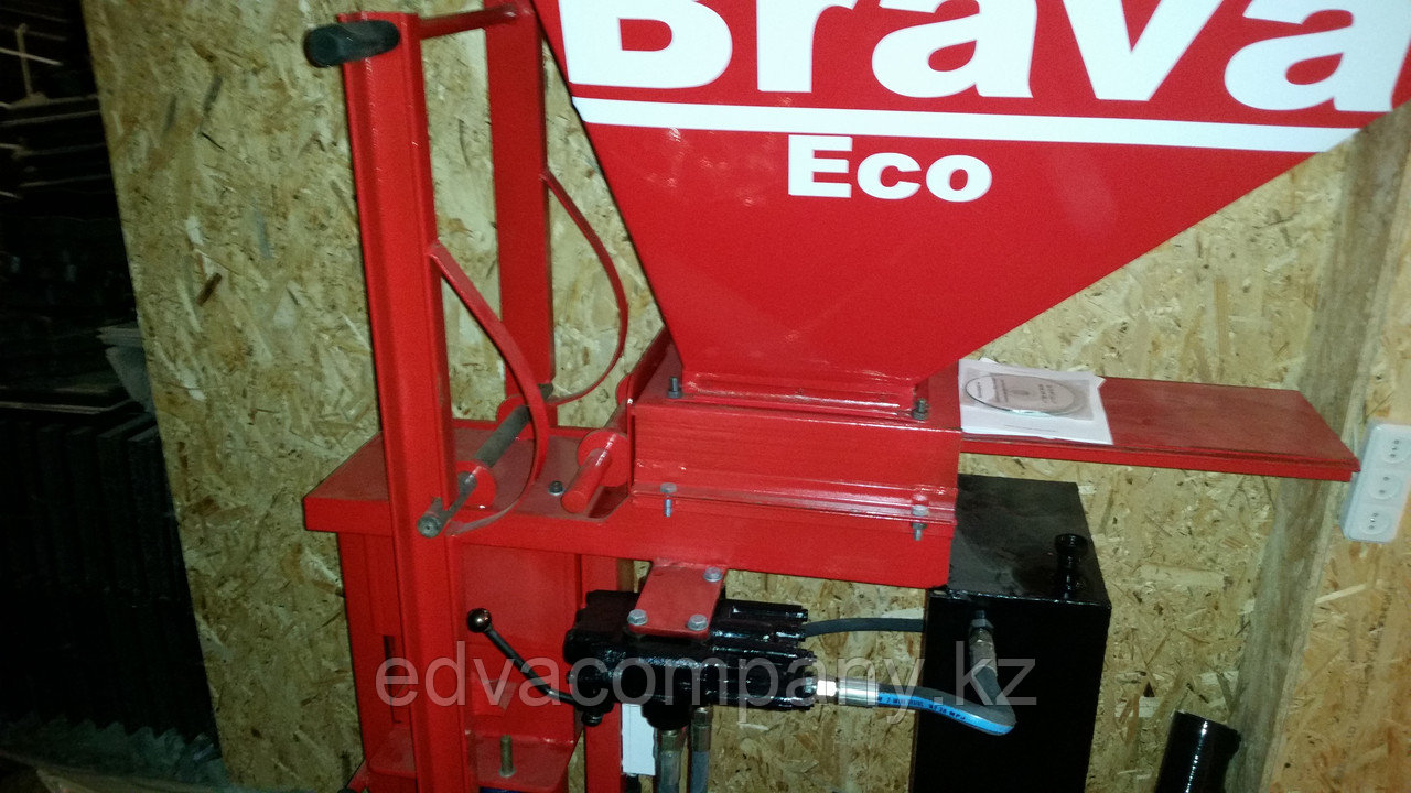 Cтанок для производства лего кирпичей EcoBrava