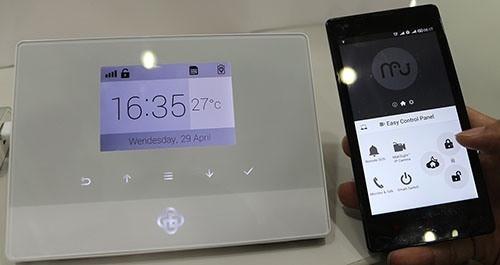 """Системой """"MatiGard Air"""" можно управлять из любой точки земного шара, где есть GSM покрытие, посредством обычного смартфона (увеличение по клику)"""