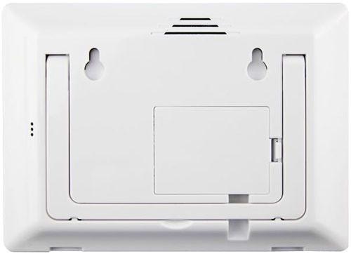 """Центральный блок GSM сигнализации """"MatiGard Air"""" можно повесить на стену, благодаря наличию специальных креплений на задней панели устройства"""