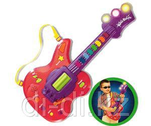 KEENWAY Гитара с кнопками (свет, звук)