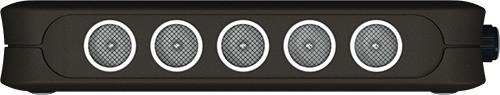 """Мощные ультразвуковые излучатели подавителя  """"BugHunter DAudio bda-2 Voices"""" расположены на боковой грани корпуса (нажмите для увеличения)"""
