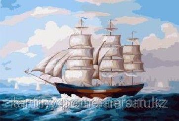 """Картины по номерам  - Алматы, """"Попутный ветер"""""""