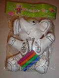"""Игрушка-раскраска мягкая моющаяся """"Слоненок"""", фото 2"""